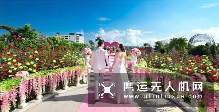 无人机表演加持,前所未有的国庆婚礼季